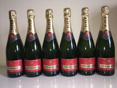 Piper Heidsieck Champagne Brut - 6 bottles (75cl) in total
