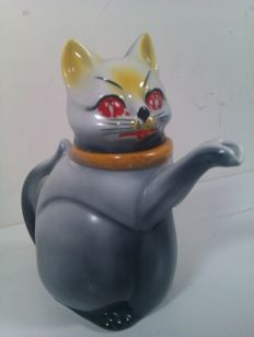 cat teapot - MOSA Maastricht - 1930 - the Netherlands