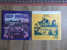 Deep Purple Lof Of 2 Lp : Live Open Air Festival In Aachen-Soers, Reitstadion , July 11 Th 1970 And Live In San Diego 1974 , Unofficial Releases