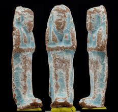 Egyptian clay Shabti  - ca. 5,5 cm c. 2,10 inches