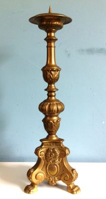 Altar candlestick - France (Lille)-19th century