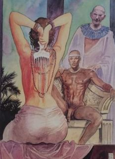 Graphic art; Milo Manara - Aphrodite 6 - late 20th century