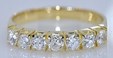 Half eternity Diamond ring - No reserve price!