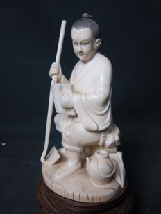 Antique ivory statue - China - Around 1920