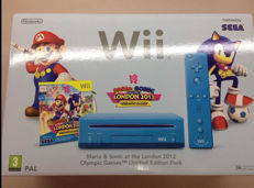 Limited Nintendo wii London 2012 blue sealed