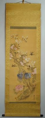 Flowers and birds - Japan - 2nd half of the 19th century