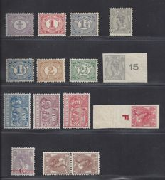 The Netherlands 1899/1923 – Six different editions