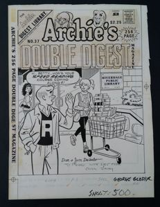 Dan & Jim DeCarlo - Couverture originale - Archie's Double Digest - (1988)
