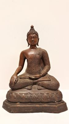 Bronze Buddha – Thailand – Late 20th century