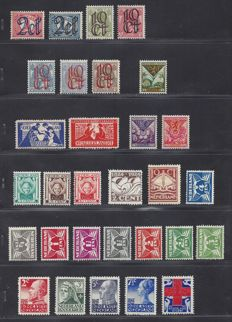 The Netherlands 1923/1927 – Selection incl. Clearance, Toorop, Numbers and Red Cross