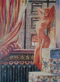 Graphic art; Milo Manara - Aphrodite 2 - late 20th century