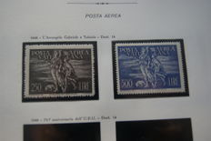 Vatican City – collection in 4 albums with Marini sheets – 1920-2000