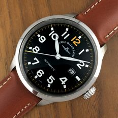 Zeno-Watch Basel — Automatic Big Pilot Date XL Size Top Condition — Hombre — 2011 - actualidad