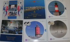 Finland – year collections 2003/2011 (6 pieces)