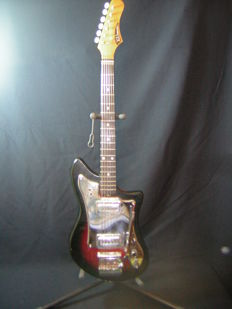 Eko - X27 Electric guitar with original box - Italy 1964