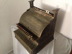 National Cash Register - Model 35, circa 1900.