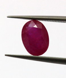 Ruby - 4.05 ct