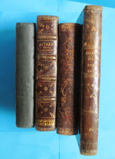 Lot of 4 volumes about Catholic religion - 1857/1895