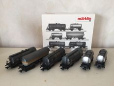 Märklin H0 - 46533 - Set tank carriages of the DB