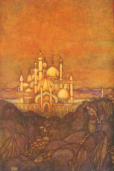 Edmund Dulac; Laurence Housman (retold) - Stories from the Arabian Nights - 1907