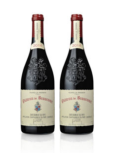 2014 Chateau de Beaucastel, Chateauneuf-du-Pape Rouge - 2 bottles 75cl