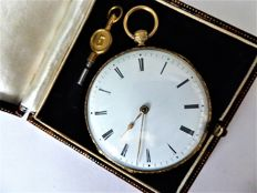 Anonymous pocket watch --- ref no 273. — Men — ca 1870