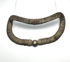 Ottoman belt - leather & brass - Turkye - ca. 1850