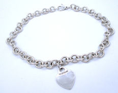 Tiffany & Co. - Chain Necklace Original heavy Stamped Tiffany & Co 925 - 40.60 cm *** no reserve price ***