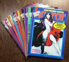 Horror - new complete series nos. 1/9 (1972)