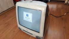 "Apple iMac G3 PowerMac model M5521 (Graphite), from 1999 - 400Mhz G3, 128MB RAM, 13GB, 15"" Display, CDrom (Slotloading)"