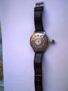 Longines marriage watch (modified) – Men's watch from the 1920s (circa)