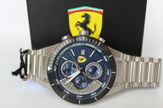 Scuderia Ferrari Redrev Evo chronograaf – men's wristwatch – new condition