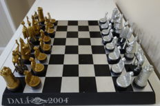 Surrealist chess - Salvador Dalí - Collectible