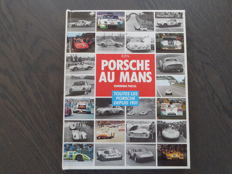 Book; Dominique Pascal - Porsche au Mans - 1983