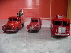 Dinky Toys-FRance - Scale 1/43 - Lot of 2 trucks and van