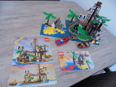 Pirates - 6270 + 6254 - Forbidden Island + Rocky Reef