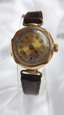 Arrow – antique, Art Deco wristwatch – 1930s - special model - 15 jewels - Swiss.