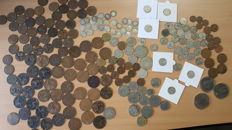 United Kingdom - Farthing up to and including 1 pound (233 coins) - silver and copper
