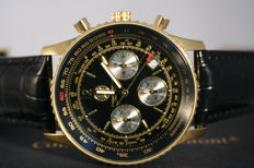 "Constantin Durmont -- Air Commander ""Black Gold"" -- Men's wristwatch."