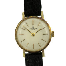 Ladies' 18kt Gold plated and Steel Baume & Mercier wristwatch, revised.
