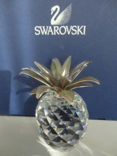 Swarovski - Pineapple large, silver.