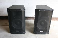 Set of 400 W PA speakers