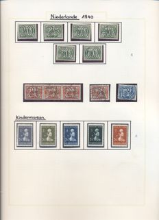 The Netherlands 1940/1993 - Collection in two albums