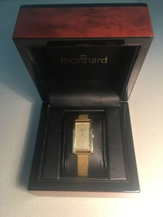 – 14 kt gold women's watch with a Milanese strap – 1.457.1 – Women's