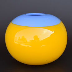 Marek Bartko - glass vase unica