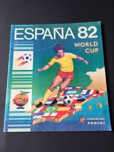 Panini - FIFA Worldcup España 82 - Complete album international edition.