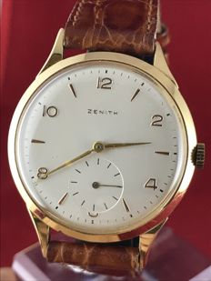 Zenith in 18 kt gold – 37 mm – from the '60s