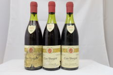 1974, Clos Vougeot Grand Cru, Henri Garoux, Cote de Or, France, 3 Bottles.