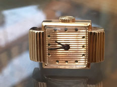 Boucheron - Solid gold ring watch - Paris - Boxed.