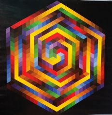 Victor Vasarely - Two works